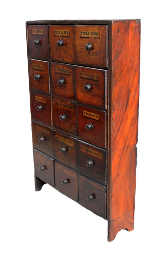 Pharmacy Chest   Van Leest Antiques (4) ...