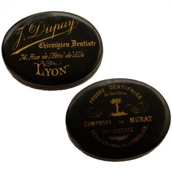 Dentifrice powder boxes - van Leest Antiques (1)