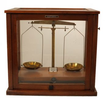 W.J. Becker Analytical Balance - van Leest Antiques (1)