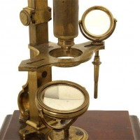 132Cuff type microscope H.  Shuttleworth VAn Leest Antiques (2)