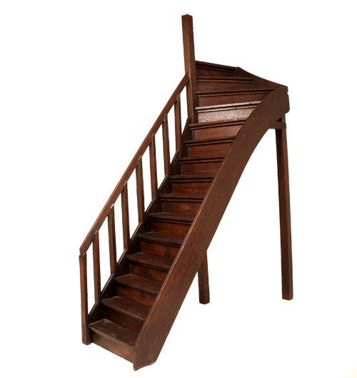 13Antique staircase model