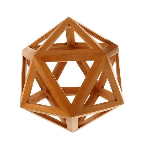 70Icosahedron model - van Leest Antiques (1)