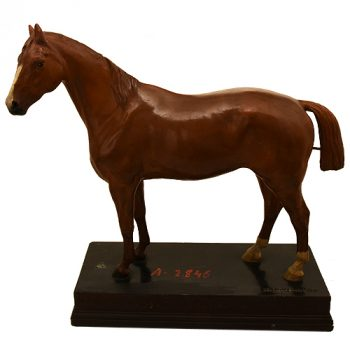 Horse plaster model - van Leest Antiques (1)