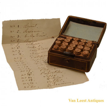 homeopatic  case - van Leest Antiques (2)