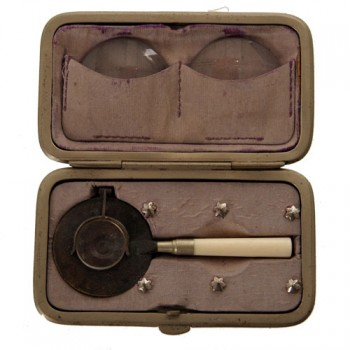 190Liebreich Ophthalmoscope - van Leest Antiques (1)