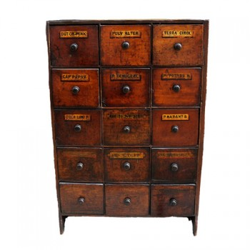 Pharmacy chest - van Leest Antiques (1)