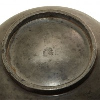 Leech bowl pewter - van Leest Antiques (2)