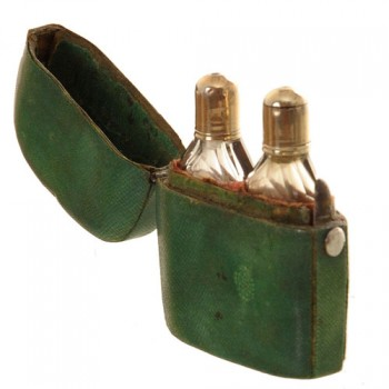 Shagreen etui salt bottles - van leest antiques (2)
