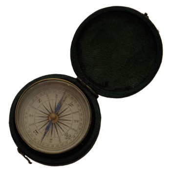 Compass in case - van Leest Antiques (3)