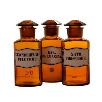 Pharmacy bottles - Van Leest Antiques (3)