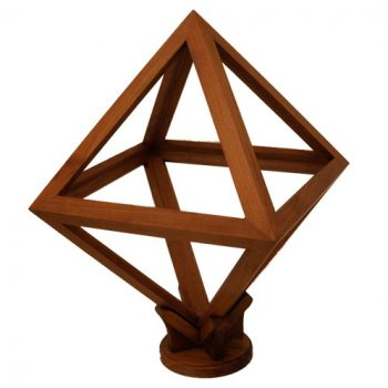 Octahedron model - van Leest Antiques (1)