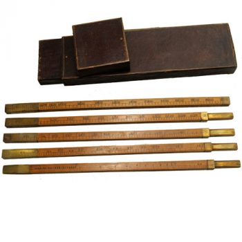 Ullaging rods in Case - van Leest ANtiques (3)