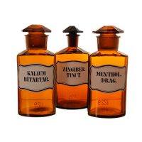Pharmacy bottles belgium - Van Leest Antiques (2)