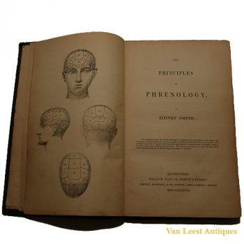 Phreonology principles book - van Leest Antiques (1)