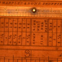 W. Marples Sons Carpenter Ruler - van Leest Antiques  (5)