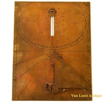 Analemmatic double  sundial - Van Leest Antiques (5)