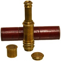 H. van Laun achromatic brass pocket telescope - van Leest Antiquesjpg (4)
