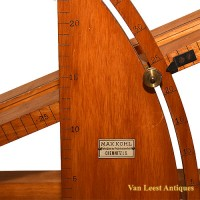 Max Kohl  inclined plane - van Leest Antiques (3)