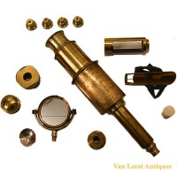 Harris and son Culpepper microscope - van Leest Antiques (10)