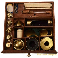 Harris and son Culpepper microscope - van Leest Antiques (11)
