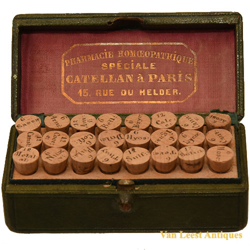 Catellan homeopathic set - Van Leest Antiques (1)
