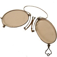 Folding Pince- nez - van Leest Antiques (1)