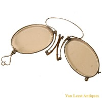 Folding Pince- nez - van Leest Antiques (2)
