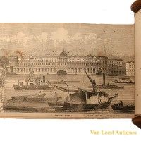 Grand panorama London Thames Azulay Thames Tunnel - Van Leest ANtiques (5)
