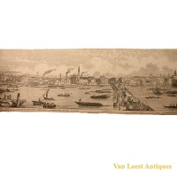 Grand panorama London Thames Azulay Thames Tunnel - Van Leest ANtiques (7)