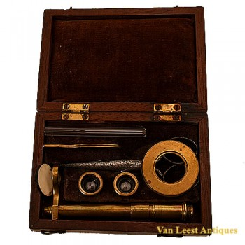Botanical microscope - van Leest Antiques  (2)