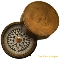 Floating Card compass nautical - van Leest Antiques (1)