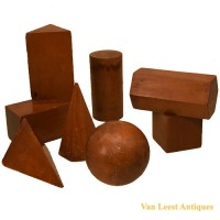 Geometric models set - van Leest Antiques (1)