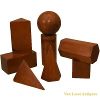 Geometric models set - van Leest Antiques (2)