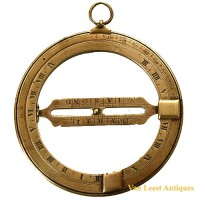 Equinoctial ring sundial 18 th C - van Leest Antiques (2)