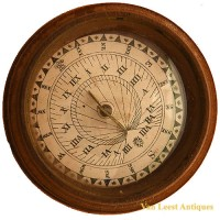 Sundial-compass German floating - van Leest Antiques (3)
