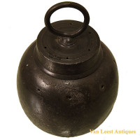 Pewter Leech Carrier - Pot Sangsues - Van Leest Antiques (1)