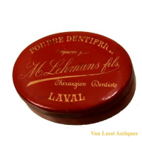 Dental tooth-paste boxes French - Van Leest Antiques (10)