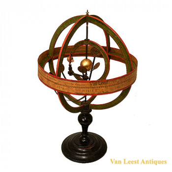 Copernican type Armillary sphere  french - van Leest Antiques (1)